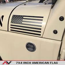 American Flag Large Alphavinyl