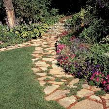 affordable garden path ideas family
