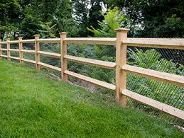 Post And Rail Fencing Ct Fence Company Post Wire Fencing