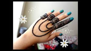 mehndi ki new design chain wali
