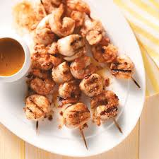 Shrimp and Scallop Kabobs Recipe ...
