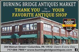 picture of burning bridges antiques