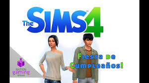 Fiesta De Cumpleanos Sims 4 Youtube