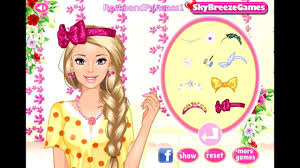 barbie dress up and makeup games free