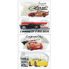 Disney Pixar Cars 3 Racing Wall Decals By Roommates