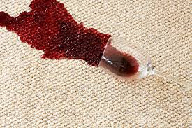 remove beer and wine stains from carpeting