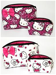 o kitty cosmetic set with bag for