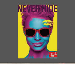 Never Hide Ray Ban Sticker Wholesale Sticker Supplier Decal
