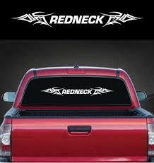 Redneck Tribal Windshield Banner Decal Sticker Custom Sticker Shop