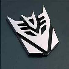 New 3d Logo Decepticon Transformers Emblem Badge Graphics Car Sticker Decal J6p8 Ebay