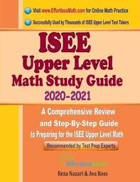 ISEE Upper Level Math Study Guide 2020 - 2021 : Ava Ross : 9781646123162