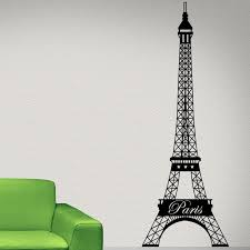 Style And Apply Paris Eiffel Tower Wall Decal Reviews Wayfair