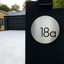 Custom House Numbers Address Signs Lisasarah Lisasarah Steel Designs Nz