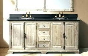 distressed wood bathroom wall cabinet