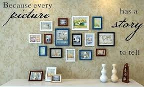 Because Every Picture Has A Story To Tell Wall Decal Vinyl Decor Home Sticker 1 89 Picclick