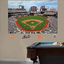 Fathead Mlb New York Mets Stadium Mural Wall Graphic Bed Bath Beyond