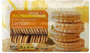 safeway sandwich creme lemon cookies