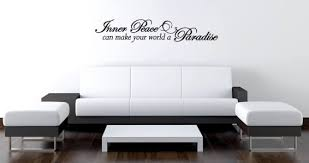 Inner Peace Quote Decals Dezign With A Z