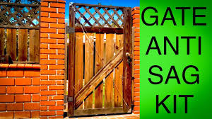 How To Repair A Sagging Gate With A Cable Support Anti Sag Gate Kit Youtube