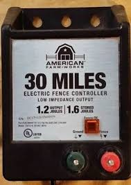 American Farm Works 30 Miles Electric Fence Controller Model 115v1j 6 Free S H 39 99 Picclick