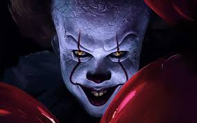 wallpaper of creepy pennywise