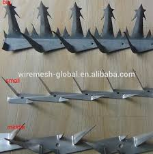 Source Anti Climb Wall Spike Fence On M Alibaba Com Security Fence Home Safety Home Defense