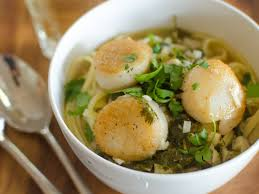 Recipe: Scallops with Lime & Cilantro ...