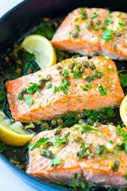garlic caper er baked salmon