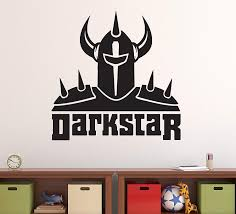 Amazon Com Manukadesigns Skateboarders Wall Decal Skateboard Themed Black Design Darkstar Skater Wall Sticker Home Any Room Decoration Cg780 18 Width X 18 Height Home Kitchen