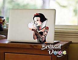 Amazon Com Snow White Tattoo Macbook Decals Stickers Laptop Skins Disney Princess Gift Macbook Pro 13 Computers Accessories
