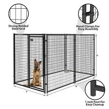 Master Paws 6 X 5 Heavy Duty Black Kennel Panel At Menards