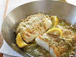 Roast Cod with Garlic Butter Recipe ...
