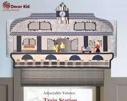 Kids Room Valance For Boys Room Or Baby Nursery Etsy