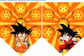 Kit Imprimible Dragon Ball Z Solo Textos Editables 1 200 En