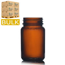 60ml amber glass pharmapac jars
