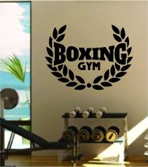 Boxing Gym Logo Wall Decal Sticker Vinyl Art Bedroom Living Room Quote Boop Decals
