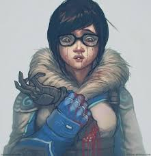 ArtStation - Mei - Overwatch Fan Art, Aaron Foster