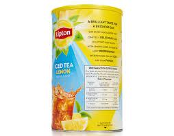 lipton iced tea lemon sweetened ice tea