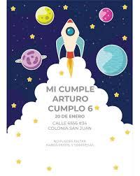Invitacion Imprimible Para Cumpleanos Ic27 35 00 En Mercado Libre