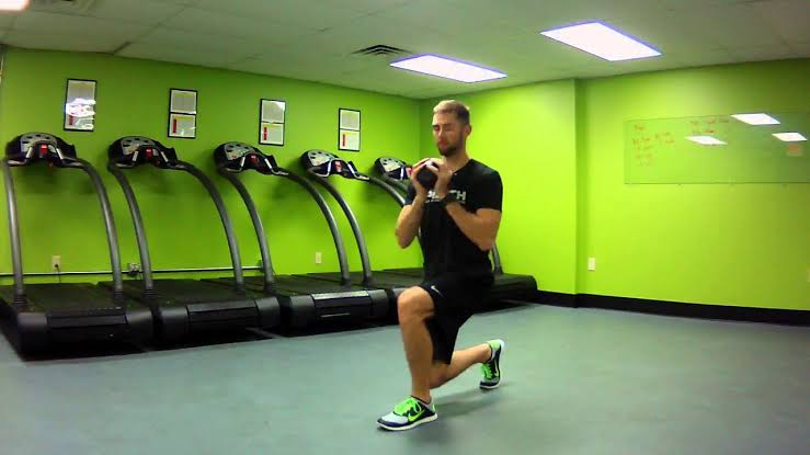 Image result for Lunge Twist""
