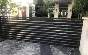 Modern Gates And Fences Akouri Metal