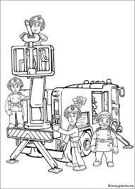 Brandweerman Sam Kleurplaten Kleurplaten Eu
