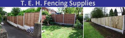 Concrete Garden Fencing Posts Supplies Installation Congleton Cheshire