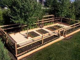 New York Vegetable Garden Fence Ideas Rustic Landscape With Backyard Grown And Front Yard