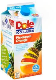 dole pineapple orange 100 juice 59