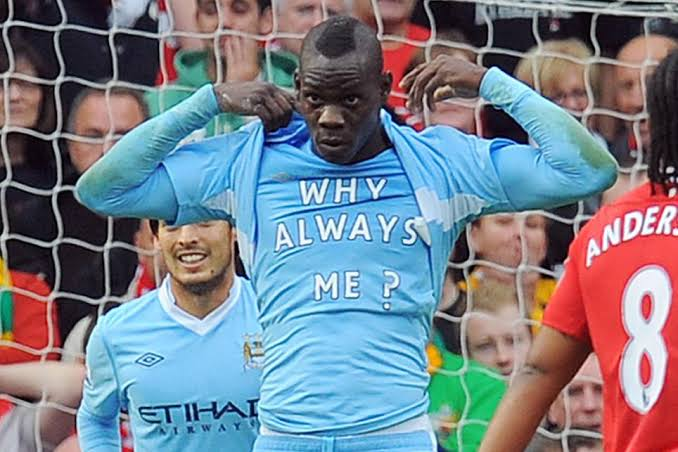 """Image result for balotelli why always me"""""""
