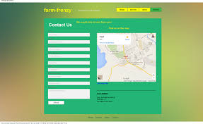 farm frenzy html web site template on