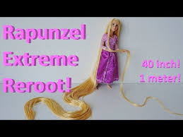 extreme doll hair reroot disney