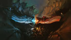 dragon battle fire vs ice game of