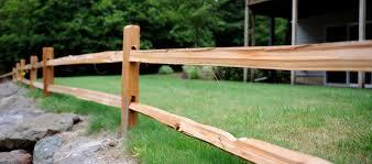 Split Rail Fencing Rick S Custom Fencing Decking
